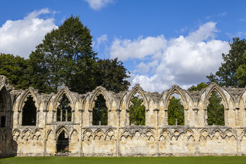 St. Mary's Abbey Ruins in York
