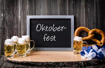 Oktoberfest Aufsteller