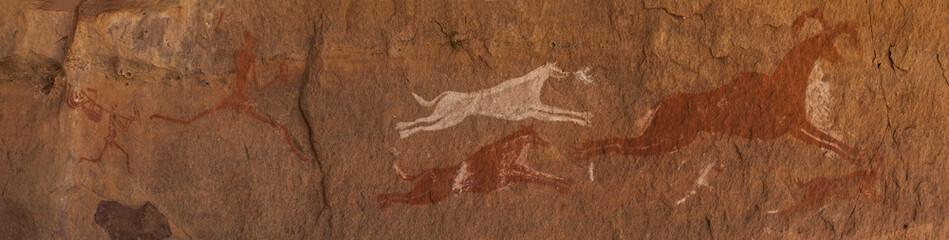 Petroglifi preistorici del deserto del Sahara libico
