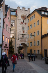 Centro storico di Brunico , Bruneck, Bolzano, Trentino Alto Adige, Italia