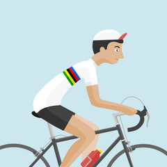 Cyclist World Champion 001