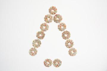 Weihnachtsbaum, Schokoladenkringel, Schokolade, Suessigkeiten, Z