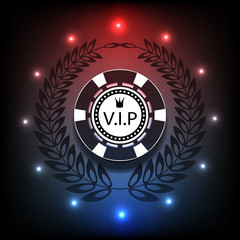 Casino background light Vip, casino, poker eps 10