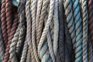 Vintage nautical rope