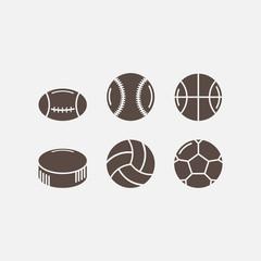 set of game balls