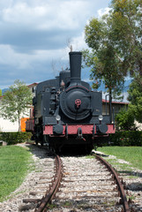 Old locomotive of the 40s