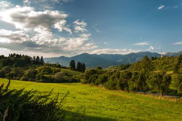 Malá Fatra - View from Turčianska Štiavnička, Martin, Slovakia