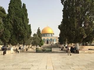 Spianata delle Moschee, Cupola della Roccia, Gerusalemme, Israele