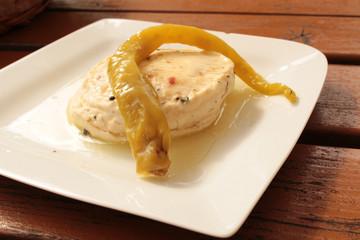 pickled camembert