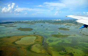 Bahamas aus der Luft
