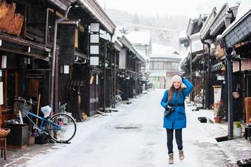 Woman in Takayama town
