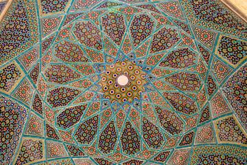 Tomb of Hafez ceiling
