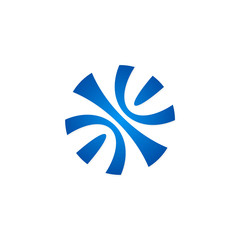 round hape ball abstract vector logo