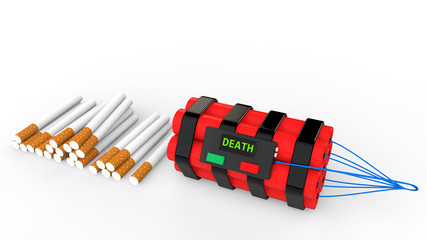 3d cigarettes and time bomb