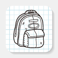 doodle Travel Bags