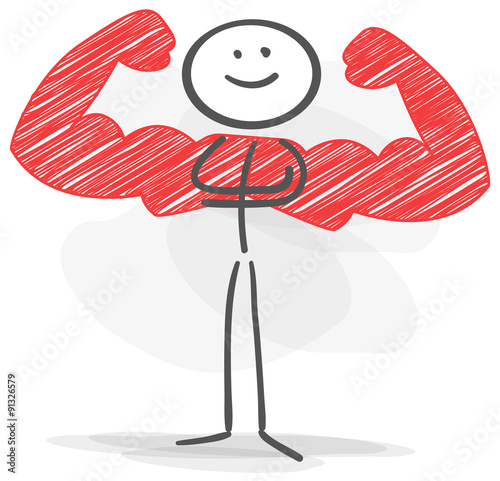 quot stickman muscle strong red quot  stock image and royalty free file folder clip art black and white file folder clip art black and white