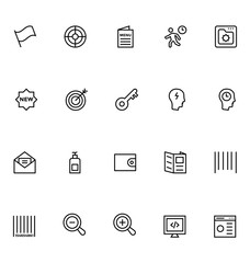 Productivity and Development Vector Icons 1
