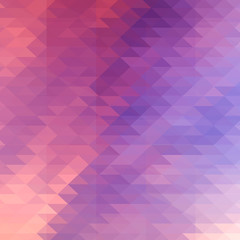 Hipster background made of triangles.