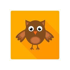 Halloween owl icon