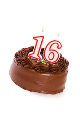 Cake: Cake to Celebrate 16th Birthday