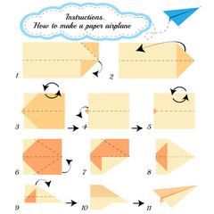 Paper Airplane origami