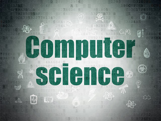 Science concept: Computer Science on Digital Paper background