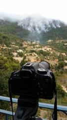 Photographier un incendie de forêt