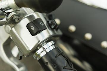 Light switch on the handle handlebar bikes