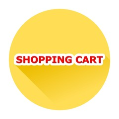 Shopping Cart With Shadow