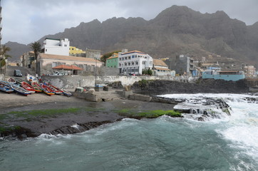 Cabo Verde coast