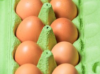 Frische Eier vom Bauern