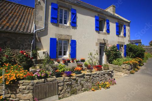 francia bretagna roscoff isola di batz photo libre de