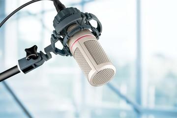 Studio microphone.