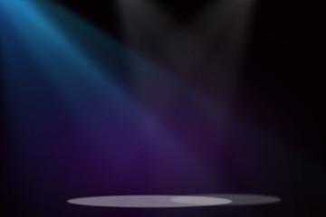 Purple&Blue stage background