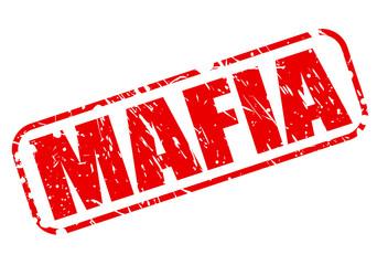 Mafia red stamp text
