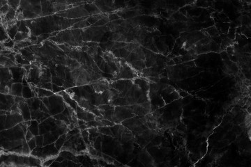 black marble patterned (natural patterns) texture for background and design.