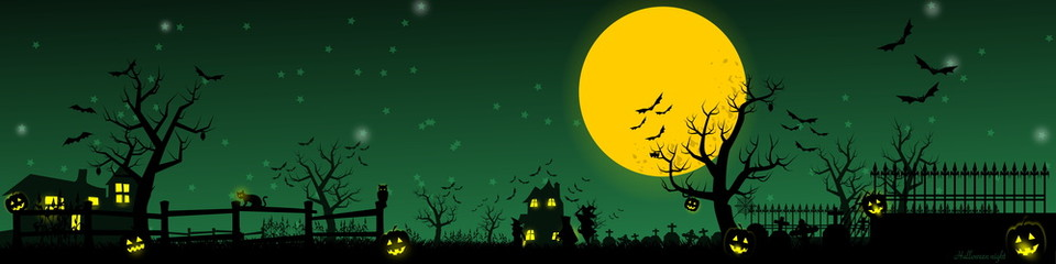 Halloween Night, for Happy Halloween