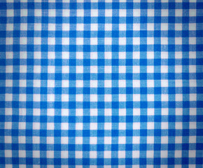 Blue Tablecloth Background