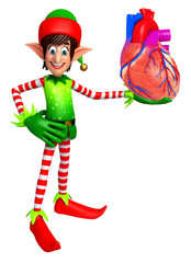 elves with anatomical heart