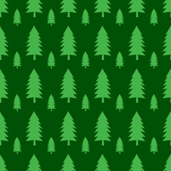 Forest seamless pattern background