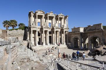 Эфес, Турция. Фасад библиотеки Цельсия