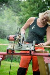 Women in a mans job