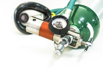 oxygen with mask demand valve