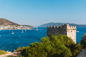 Tower of Bodrum's castle