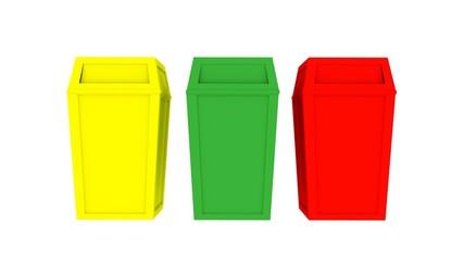 bin recycle 3D