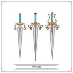 Spiky Fantasy Sword