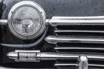 classic car background
