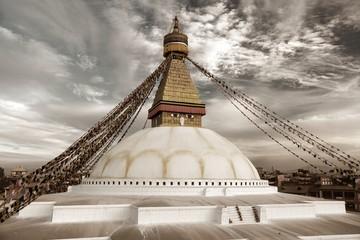 Boudhanath stupa - Kathmandu - Nepal