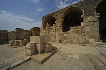 Crusader Church in Beit Guvrin, Israel