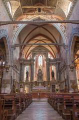 Venice - church Chiesa di San Stefano - Saint Stephen.